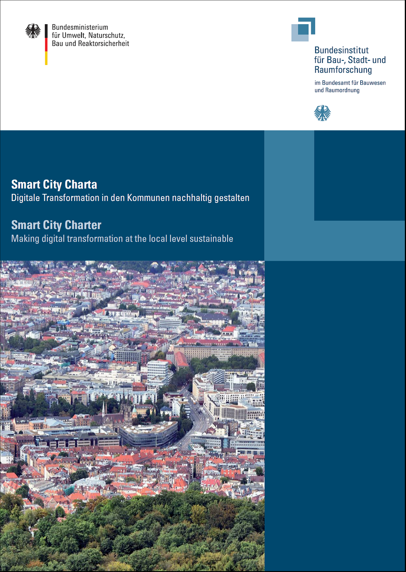 Cover: BBSR: Smart City Charta - Digitale Transformation in den Kommunen nachhaltig gestalten
